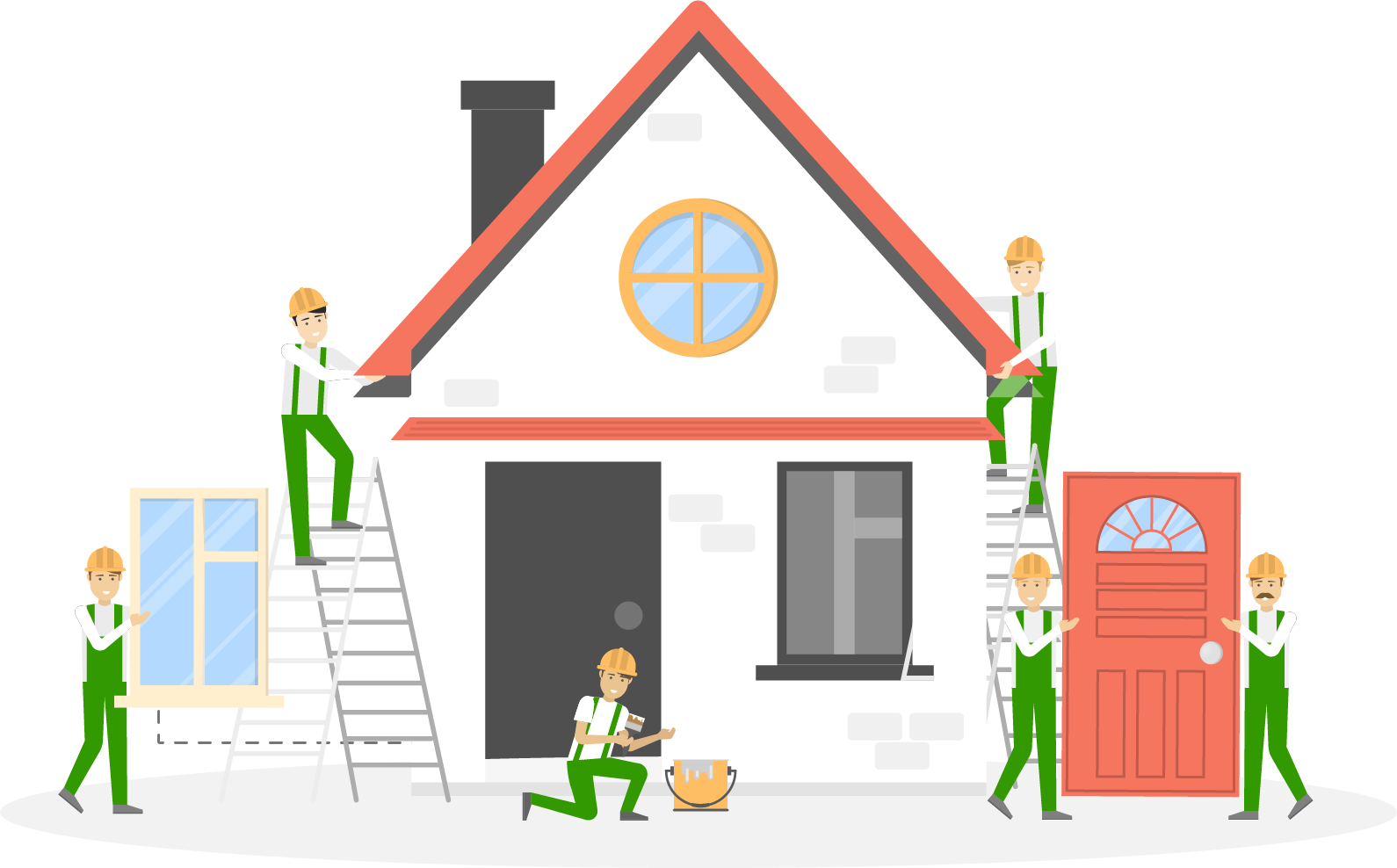 Home Pro Partners Illustration